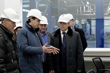 Minister of Industry and Science of the Sverdlovsk region visited the VMP plant